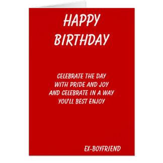 El mejor en tarjetas de cumpleaños del todo-ex-nov