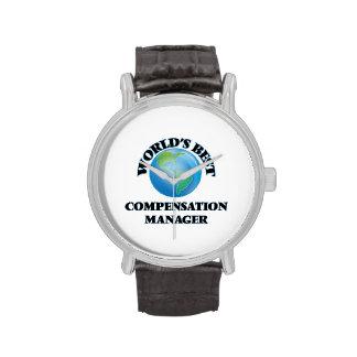 El mejor encargado de la remuneración del mundo relojes de pulsera
