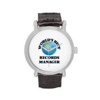 El mejor encargado de los expedientes del mundo reloj de mano