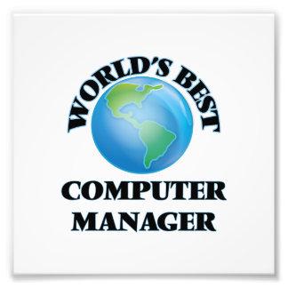 El mejor encargado del ordenador del mundo fotografía