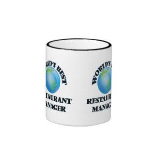 El mejor encargado del restaurante del mundo taza de café