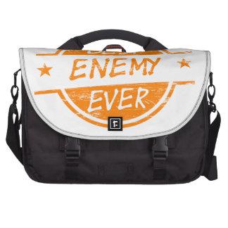 El mejor enemigo siempre anaranjado bolsas para portatil
