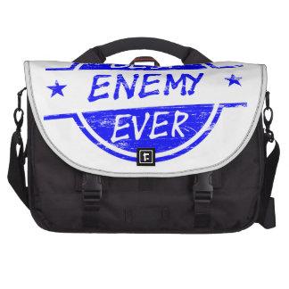 El mejor enemigo siempre azul bolsas de ordenador