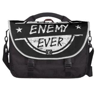El mejor enemigo siempre blanco bolsas de portatil