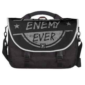 El mejor enemigo siempre gris bolsas para portatil