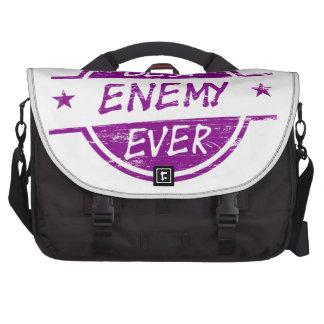El mejor enemigo siempre púrpura bolsas de portatil