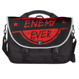El mejor enemigo siempre rojo bolsas de ordenador