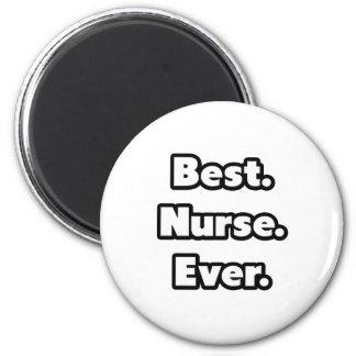 El mejor. Enfermera. Nunca Imán Redondo 5 Cm