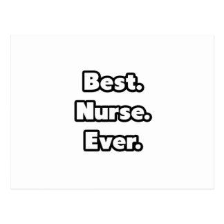 El mejor Enfermera Nunca Tarjetas Postales