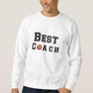 El mejor entrenador de béisbol pulovers sudaderas