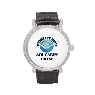 El mejor equipo de la cabina del aire del mundo relojes