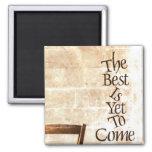 El mejor es todavía venir iman