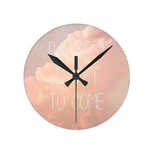 El mejor es todavía venir reloj de pared