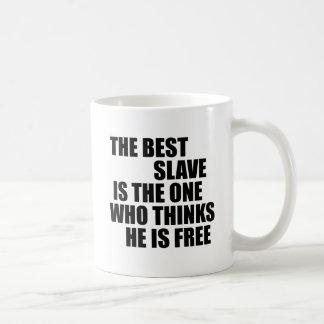 El mejor esclavo (AHORA, código Morse) Taza De Café
