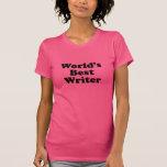 El mejor escritor del mundo camiseta