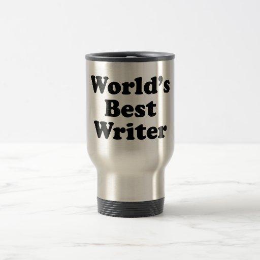 El mejor escritor del mundo taza térmica