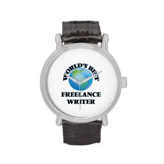 El mejor escritor free lance del mundo relojes de pulsera