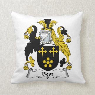 El mejor escudo de la familia almohada