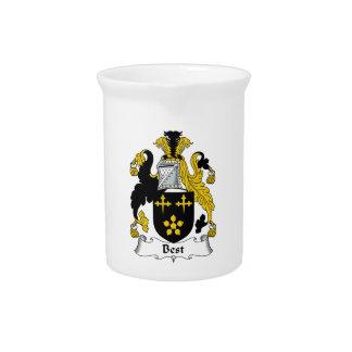 El mejor escudo de la familia jarras para bebida