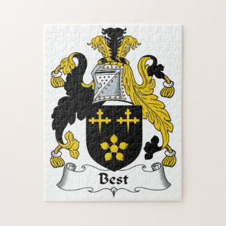 El mejor escudo de la familia puzzles