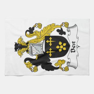 El mejor escudo de la familia toalla