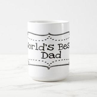 El mejor estaño de la taza del papá de los mundos