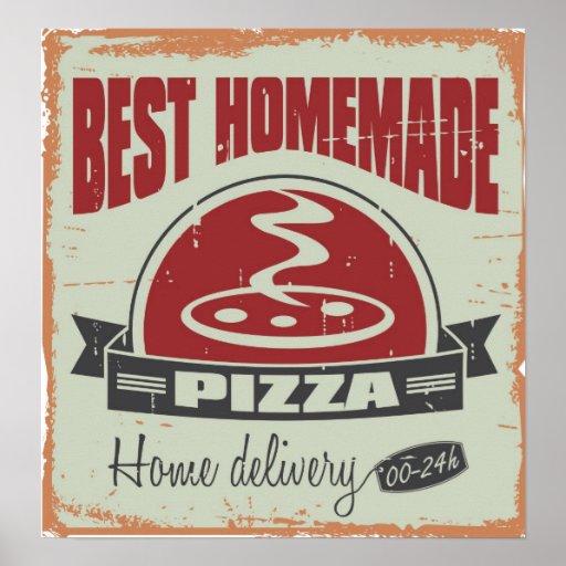 El mejor estilo hecho en casa del Grunge de la piz Poster