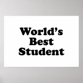 El mejor estudiante del mundo póster