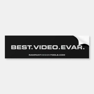 El mejor Evar video - pegatina para el parachoques Pegatina Para Auto