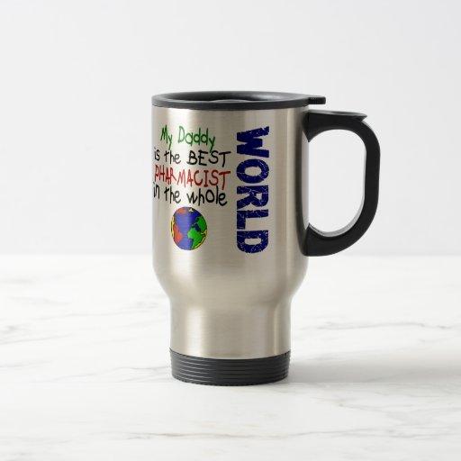 El mejor farmacéutico en el mundo 2 (papá) taza de café