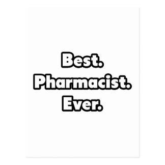 El mejor. Farmacéutico. Nunca Postal