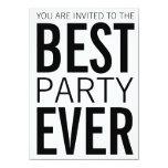 El mejor fiesta nunca comunicado personalizado