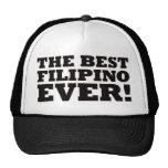 El mejor filipino nunca gorras de camionero