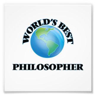 El mejor filósofo del mundo impresion fotografica