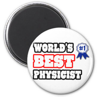 El mejor físico del mundo imán de frigorífico