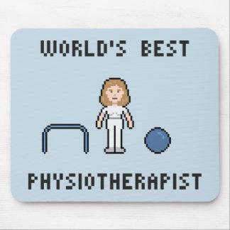 El mejor fisioterapeuta Mousepad de 8 mundos del