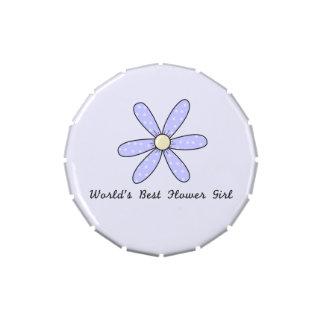 El mejor florista del mundo latas de caramelos