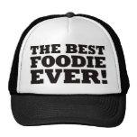 El mejor Foodie nunca Gorra