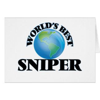 El mejor francotirador del mundo tarjeta pequeña