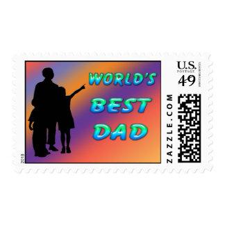 El mejor franqueo del papá del mundo