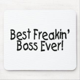 El mejor Freakin Boss nunca Alfombrilla De Raton