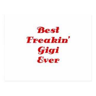 El mejor Freakin Gigi nunca Postal