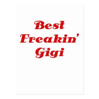 El mejor Freakin Gigi Tarjetas Postales