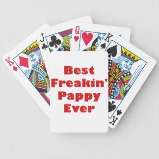 El mejor Freakin Pappy nunca Cartas De Juego