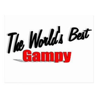 El mejor Gampy del mundo Postal