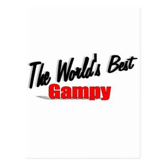 El mejor Gampy del mundo Postales