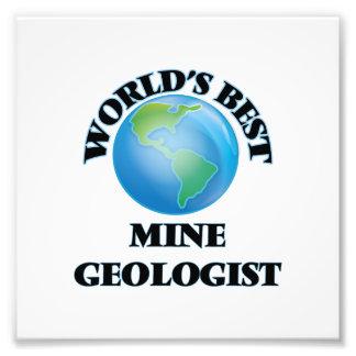 El mejor geólogo de la mina del mundo arte fotográfico
