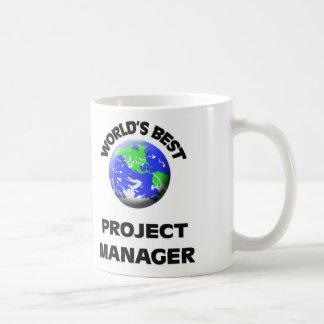 El mejor gestor de proyecto del mundo taza básica blanca