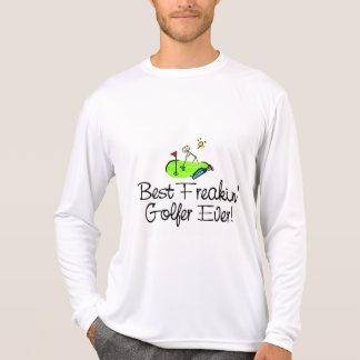 El mejor golfista de Freakin siempre (1) Camisetas