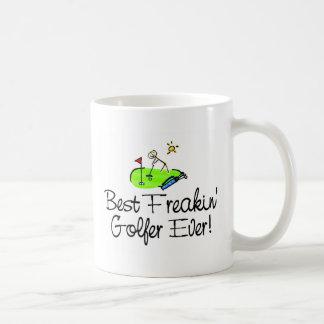 El mejor golfista de Freakin siempre (1) Taza De Café